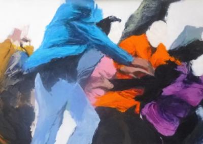 """""""Mouvement""""  -  acrylique sur toile"""
