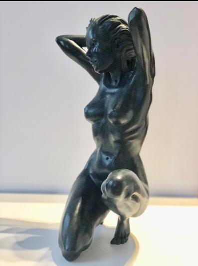 « La poseuse » (bronze 2018)